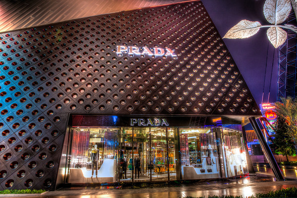 Las Vegas City Center Prada Store.