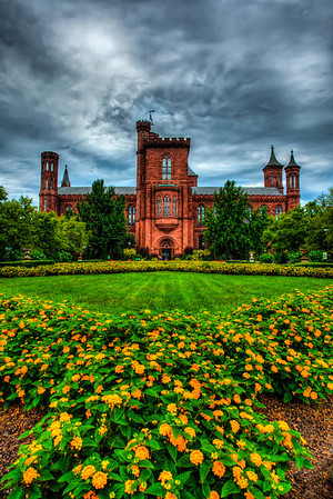 Smithsonian Castle Museum in Washington DC
